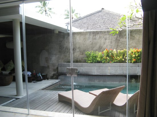 Bali Mandira Beach Resort & Spa: The view from your bed