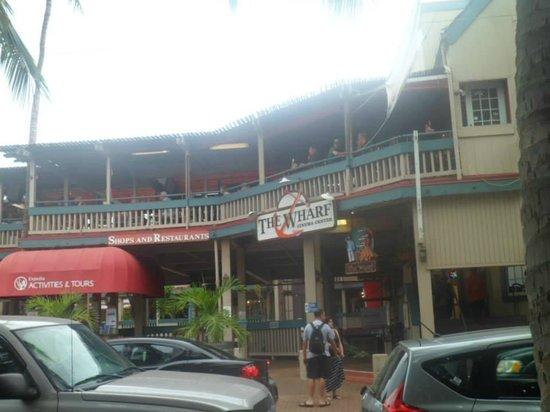 Lahaina Front Street: The Wharf