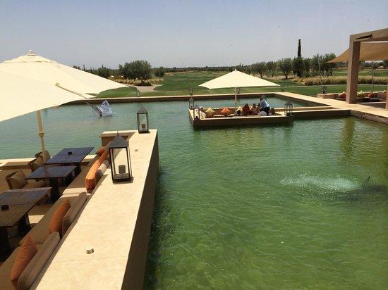 Al Maaden VillaHotel & Spa: Vu du resto du golf