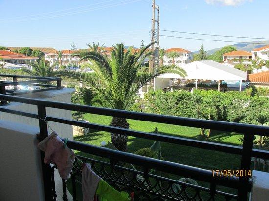 Marelen Hotel: View from balcony 313/314