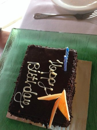 Maalan Buffet Dining : special birthday surprise from the staff :)