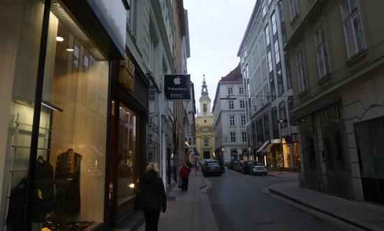 Historisches Zentrum von Wien: 6. Улицы Вены.