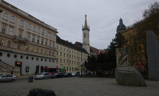 Historisches Zentrum von Wien: 25. Гуляю по Вене.
