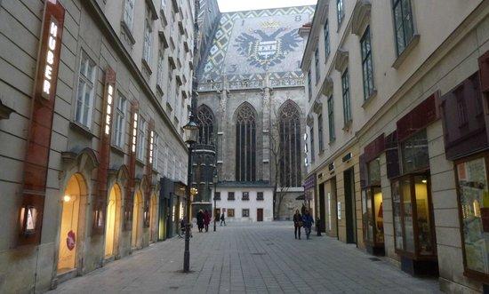 Historisches Zentrum von Wien: 10. Собор. Ракурс.