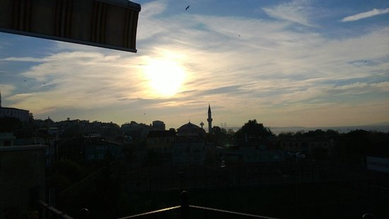 Saruhan Hotel : fron the roof