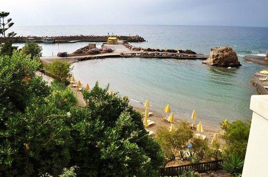Iberostar Creta Marine: Вид из номера 750/ пляж