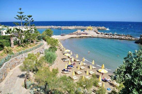 Iberostar Creta Marine: Вид из номера / пляж