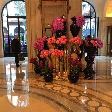 Four Seasons Hotel George V Paris: you know you have arrived............Bonjour!