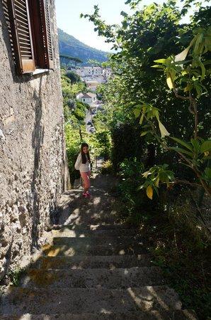 Il Melograno in Costa d'Amalfi: la salita