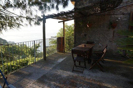 Il Melograno in Costa d'Amalfi: il terrazzo
