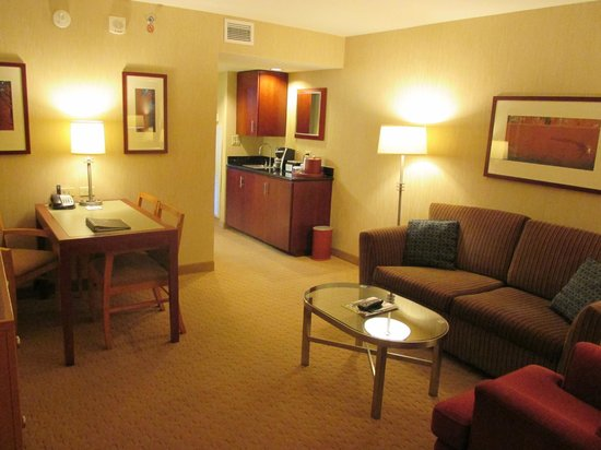 Embassy Suites by Hilton Washington-Convention Center : King Premium Suite living room area