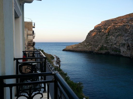 Hotel Xlendi Resort & Spa: View from balcony