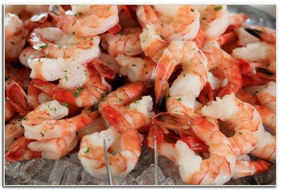 Teton Pines Country Club: Seafood Options