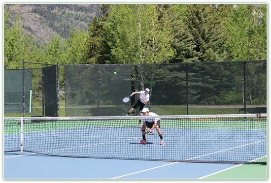 Teton Pines Country Club: Great competition