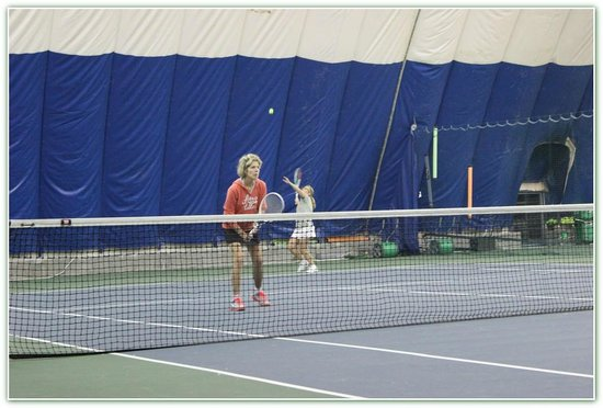 Teton Pines Country Club: The only indoor tennis in the region