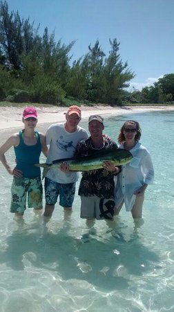 Go Fish! Fishing Charters & Adventure Tours: Fresh catch for lunch