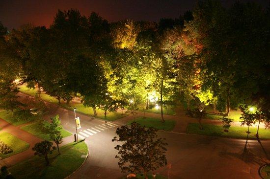 Hotel Barriere Le Westminster: photo de nuit en pause sur CANON