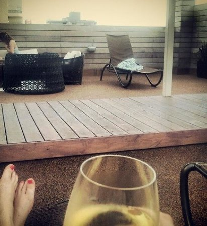 Winter Haven, Autograph Collection: Relaxing on the rooftop!