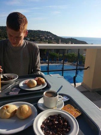 San Giorgio: breakfast