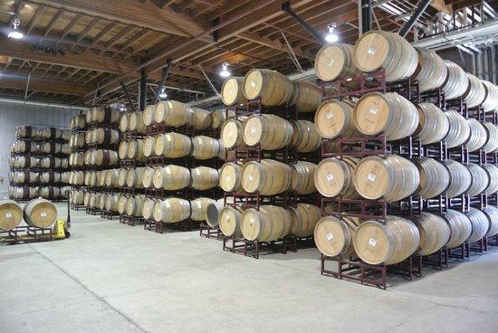 Black Stallion Winery: Al interior de la bodega