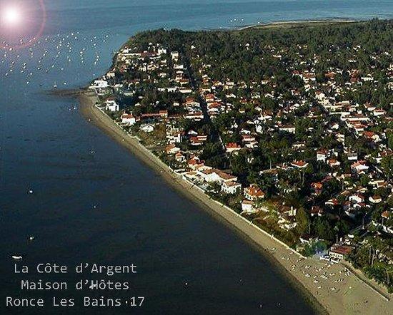 La Côte d'Argent : Hotel bord de mer à Ronce Les Bains