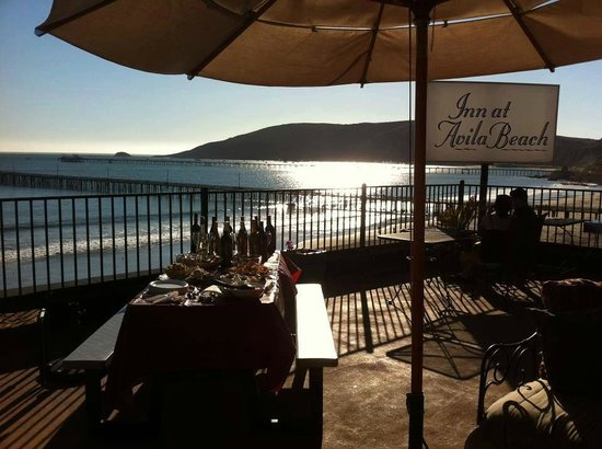 Inn at Avila Beach: The view from our sundeck
