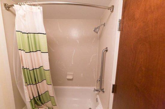 Fairfield Inn Boston Tewksbury/Andover: Shower