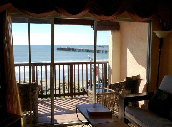 Inn at Avila Beach: The view from our Ocean Front Suites