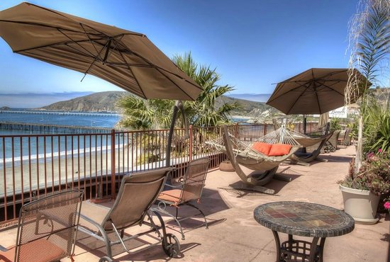 Inn at Avila Beach: Our amazing sundeck