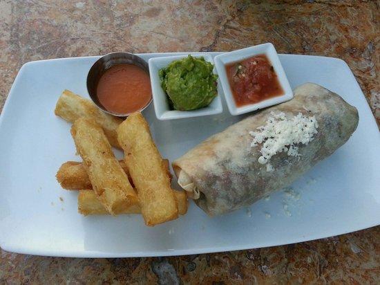 Sabor Cocina Mexicana : Carne Azada Burrito