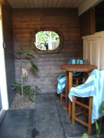 Paia Inn : Junior Suite Rm 9 Outdoor Patio