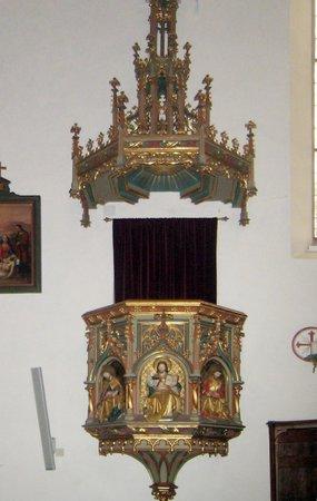 Parrocchia S. Andrea Gruppo Sabiona : Pulpito