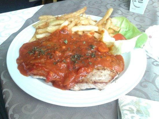 Dalmatien Grill: Zigeunerschnitzel