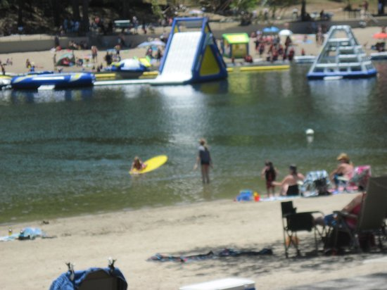 The North Shore Inn: Lake Gregory is open for fun
