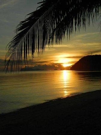 The Passage Samui Villas & Resort: Sunset!