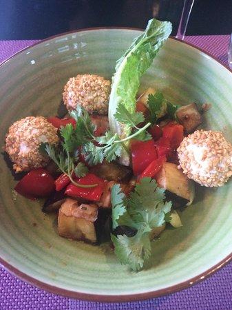 Twenty Two: Crunchy eggplant salad... Delicious!!!