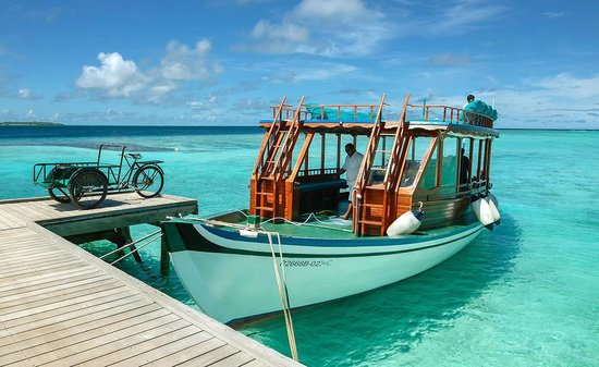 Soneva Fushi Resort: Jetty