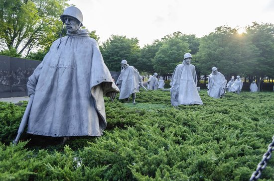 Korean War Veterans Memorial : Korean War Memorial