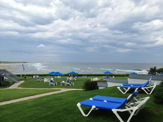 The Beachmere Inn : View from the room