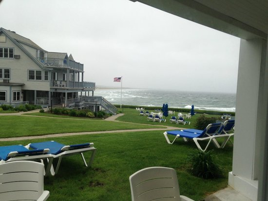The Beachmere Inn: A rainy day in Ogunquit