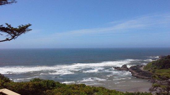 Cape Perpetua Scenic Area: View from the visitors center