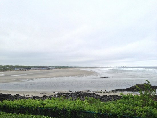 The Beachmere Inn: Ogunquit beach from the great lawn