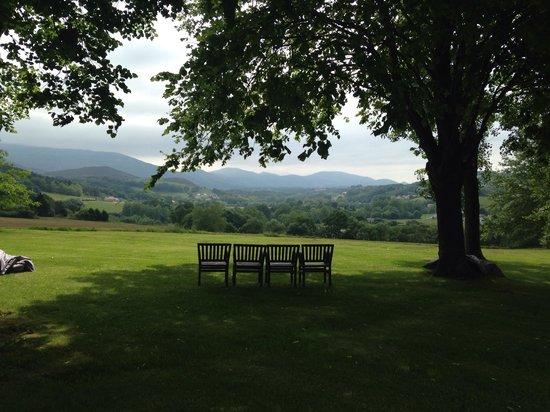 Auberge Basque : Garden view!