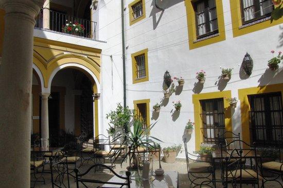 Hotel Casa Imperial: pátio interno