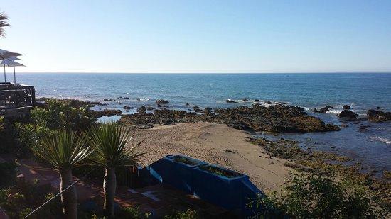 El Oceano Beach Hotel: terrace view