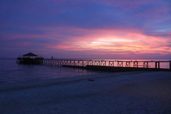 Japamala Resort by Samadhi: Sunset