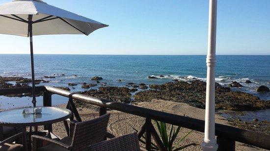 El Oceano Beach Hotel: view from terrace