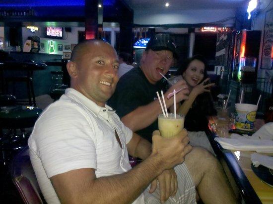 Louie's Backyard: Frozen drinks for the guys