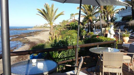 El Oceano Beach Hotel: terrace