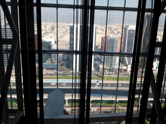 Jumeirah Emirates Towers : View from the lift